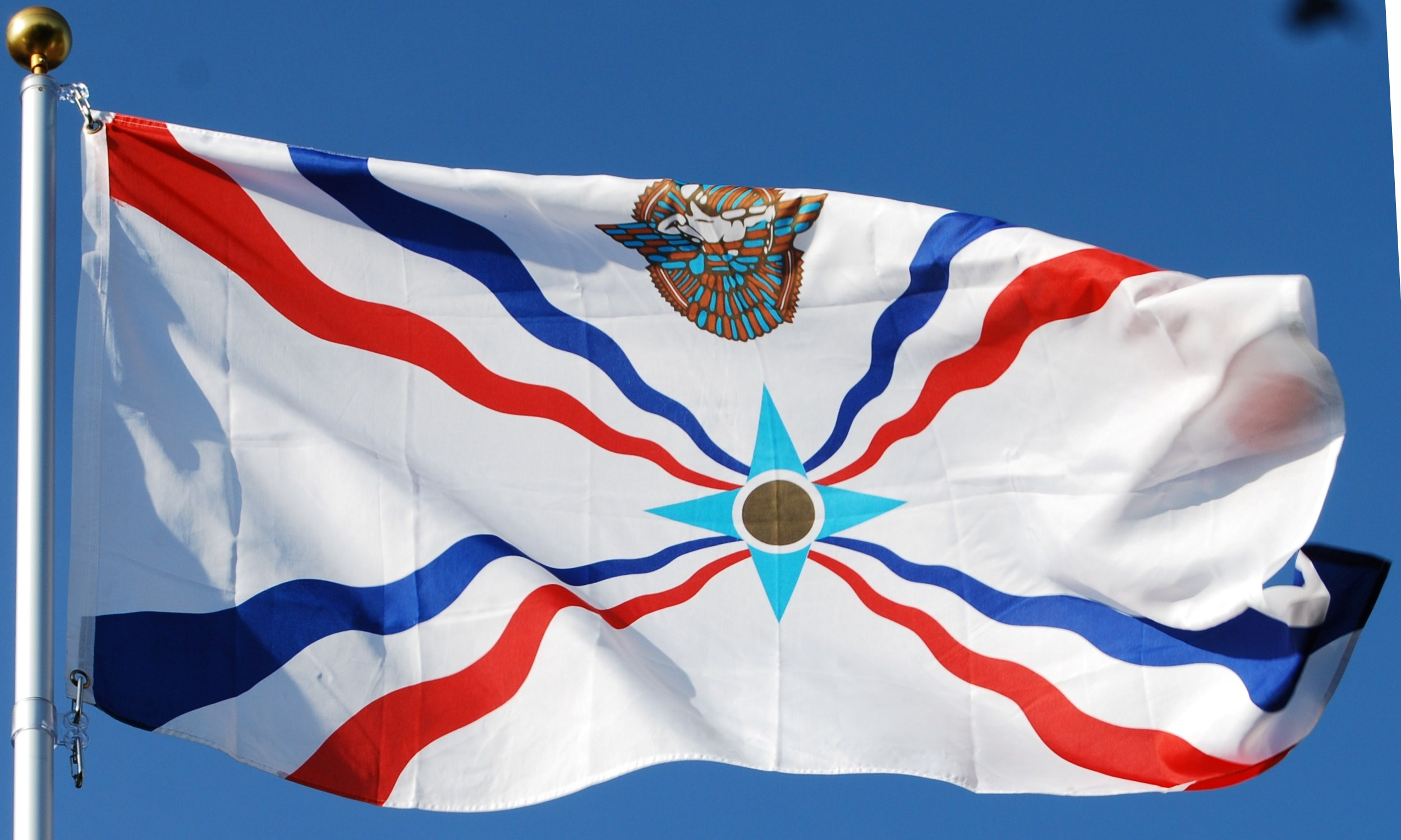 photo of flag for vetereans day