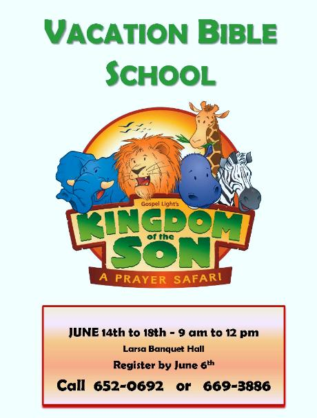 Assyrian Church Of The East Vacation Bible School